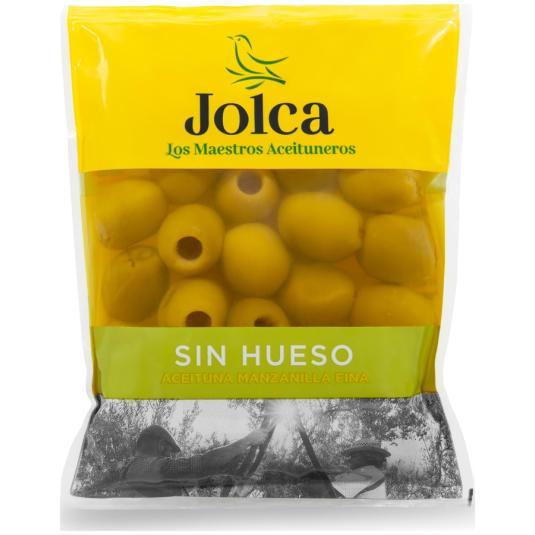 ACEITUNA S/HUESO JOLCA BOLSA