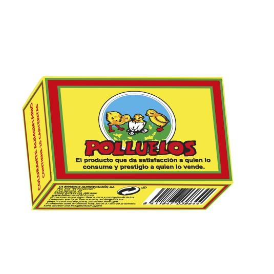 COLORANTE POLLUELOS 10 UD