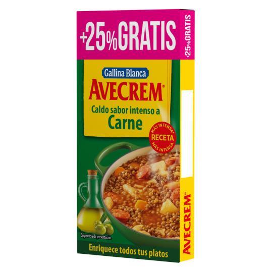 CALDO CARNE AVECREM 8+2 PASTILLAS