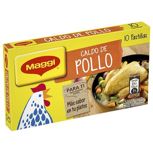 CALDO POLLO MAGGI pastillas 100 grs