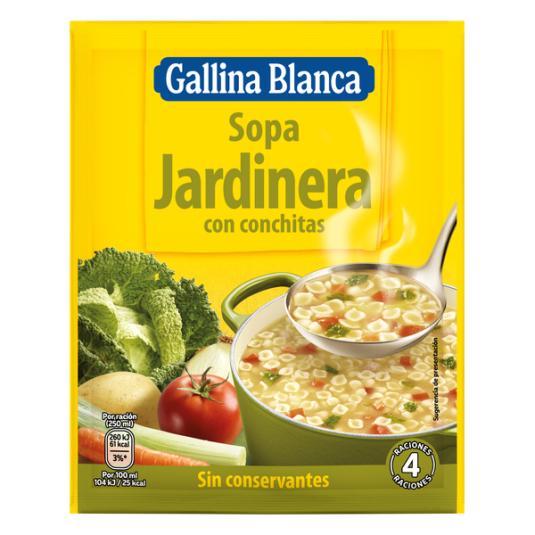 SOPA G.BLANCA JARDINERA