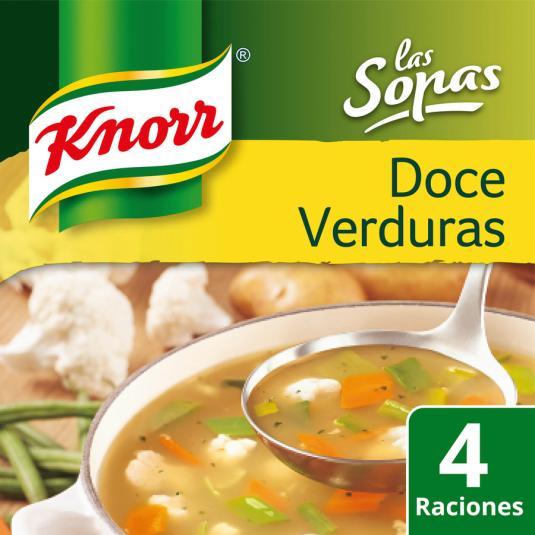 SOPA KNORR 12 VERDURAS