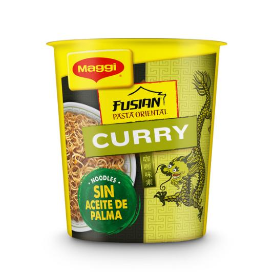 PASTA ORIENTAL MAGGI CURRY CUP 61,5 GR