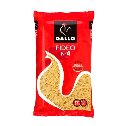 FIDEO GALLO N-4 250 GR