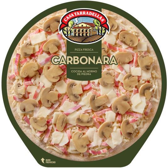 PIZZA TARRADELLAS CARBONARA