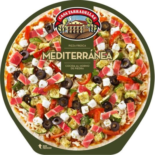 PIZZA TARRADELLAS MEDITERRANEA