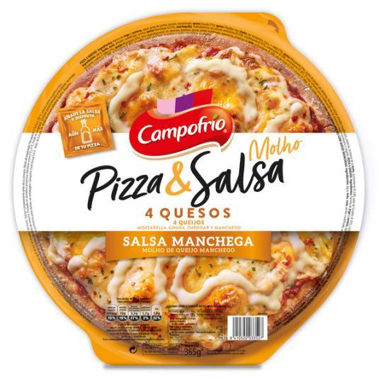 PIZZA CAMPOFRIO 4 QUESOS