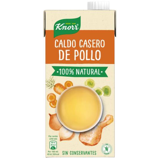 CALDO LIQ.CASERO NAT.POLLO KNORR 1L