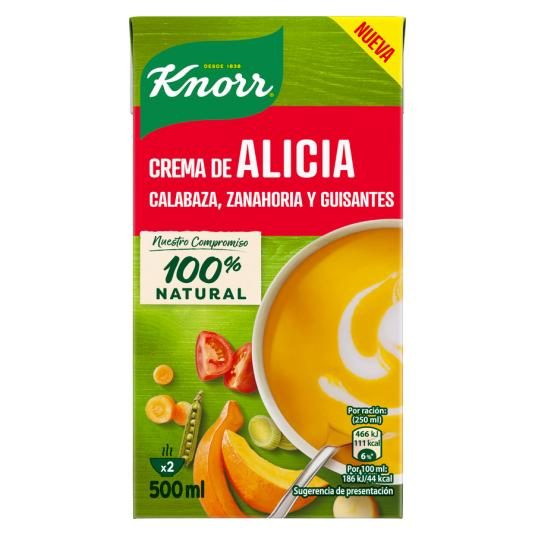 CREMA KNORR ALICIA 500 ML