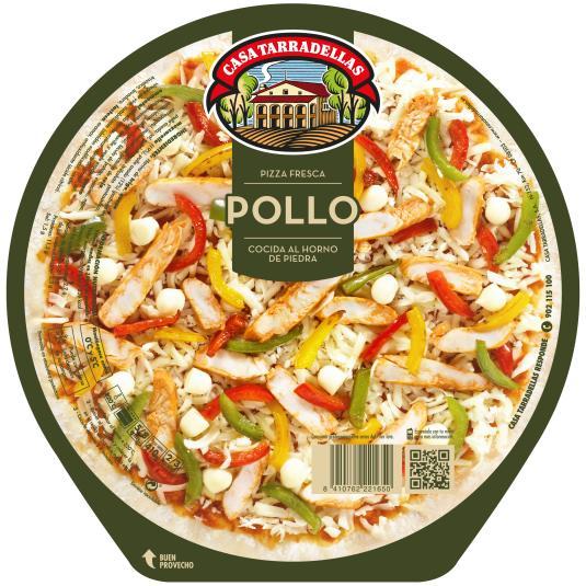 PIZZA TARRADELLAS POLLO