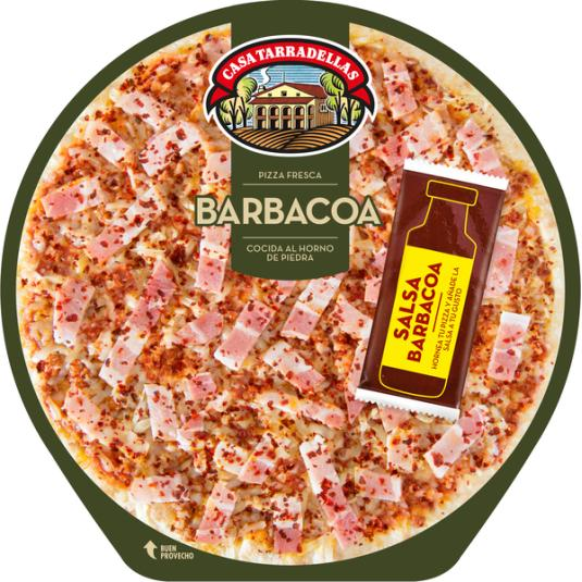 PIZZA TARRADELLAS BARBACOA