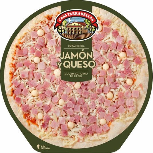 PIZZA TARRADELLAS JAMON-QUESO