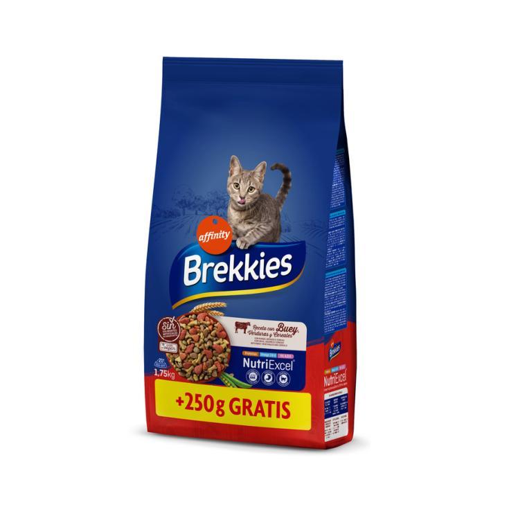 BREKKIES CAT BUEY 1,5 KG..