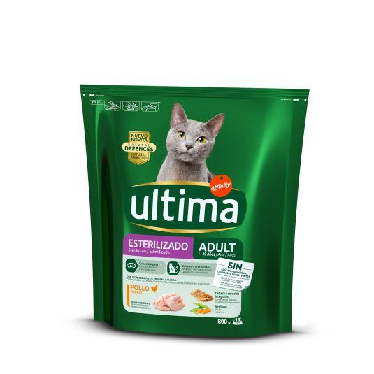 ULTIMA H.CAT ESTERILIZADOS 800 GR