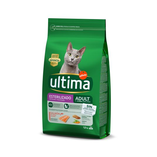ULTIMAT CAT ESTER.SALMON 1.5K