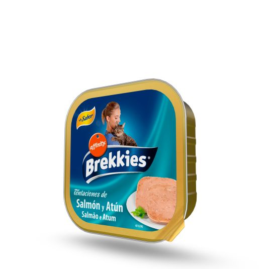 BREKKIES CAT TARRINA ATUN 100 GR