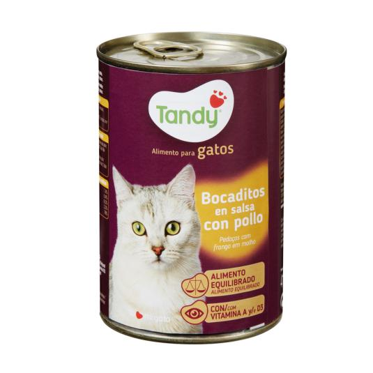 BOCAD.GATOS POLLO TANDY 415.