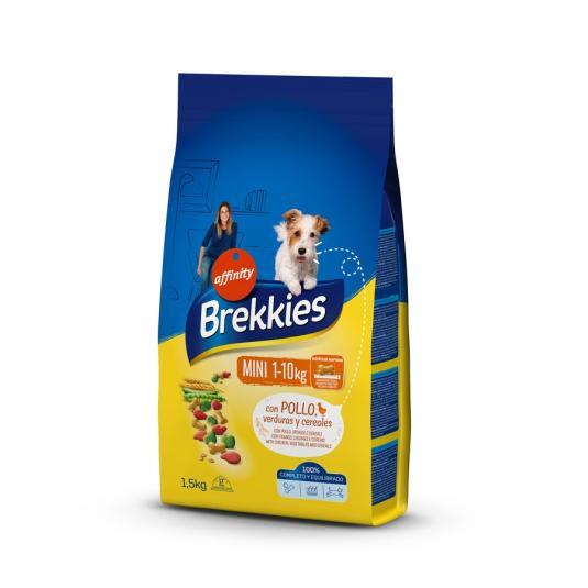 BREKKIES DOG MINI BUEY-VERDURA 1.5 KG