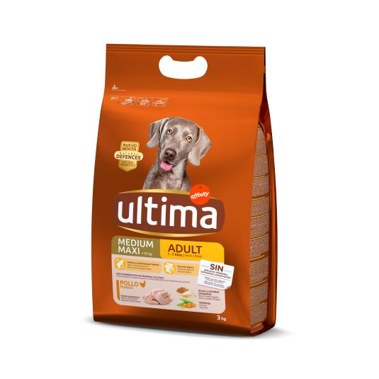 ULTIMA DOG MEDIUM-MAXI ADULTO 3KG