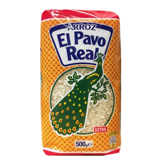 ARROZ PAVO REAL 500 GR.