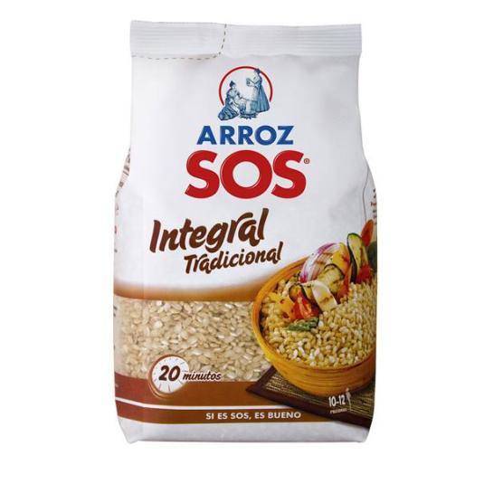 ARROZ INTEGRAL SOS 1 KILO