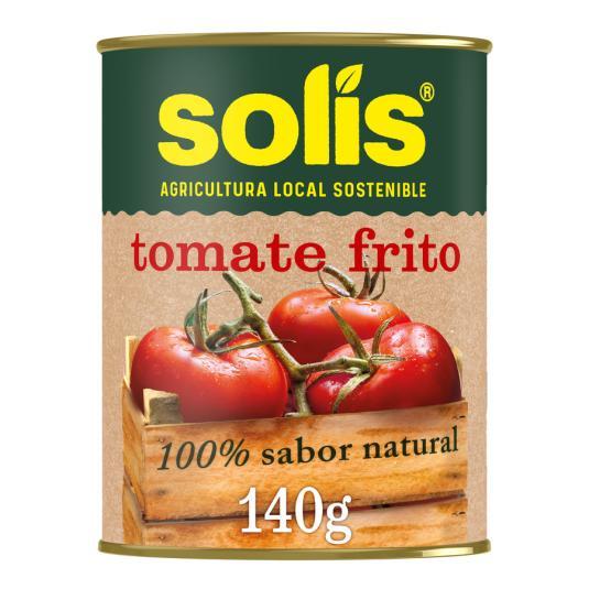 TOMATE FRITO SOLIS 140 GR.