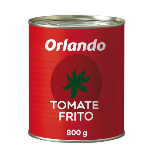 TOMATE FRITO ORLANDO LATA 800 GR