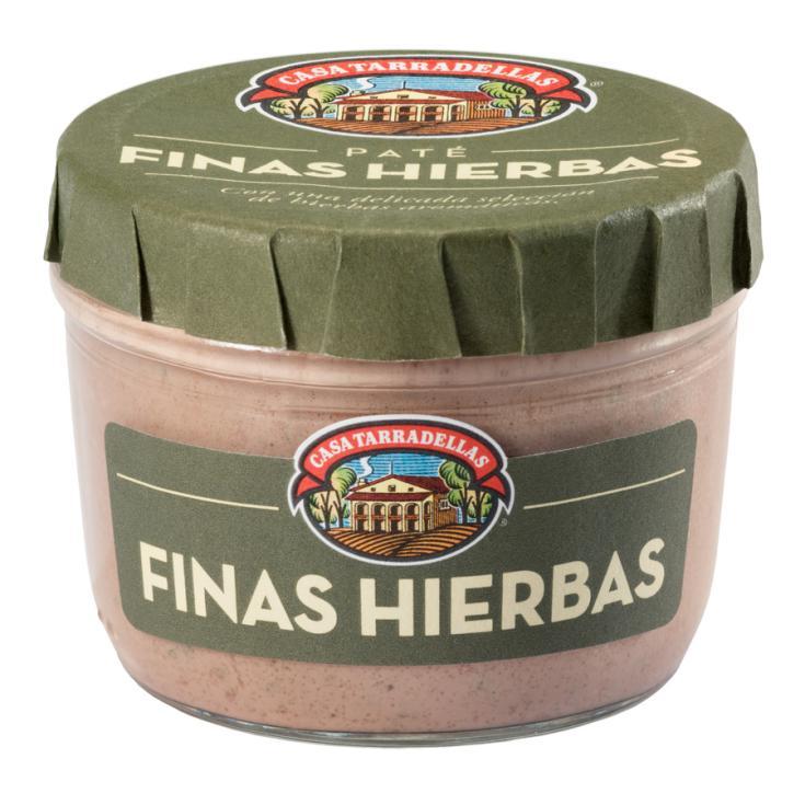 PATE TARRADELLAS F.HIERBAS 125 GR