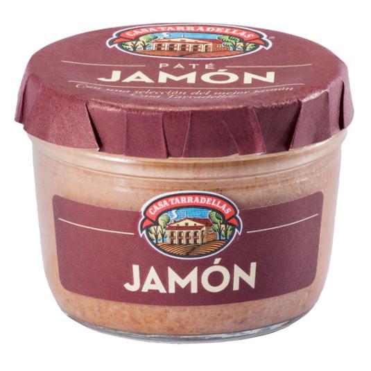 PATE TARRADELLAS JAMON 125 GR