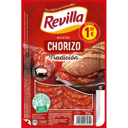 CHORIZO TRAD.REVILLA LONCH. 70 GR