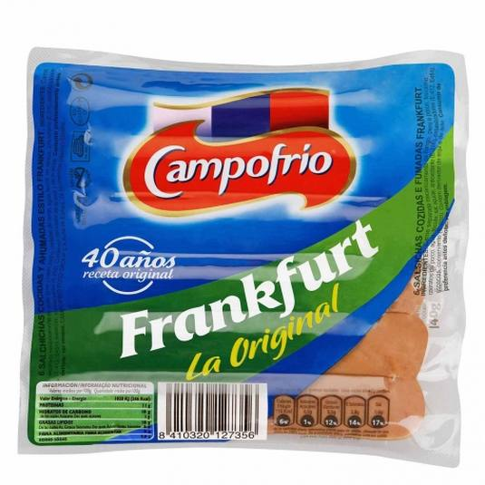 SALCH.FRANKFURT CAMPOFRIO 140G