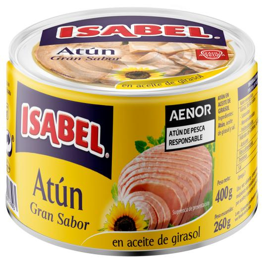 ATUN A/GIRASOL ISABEL R.O.400