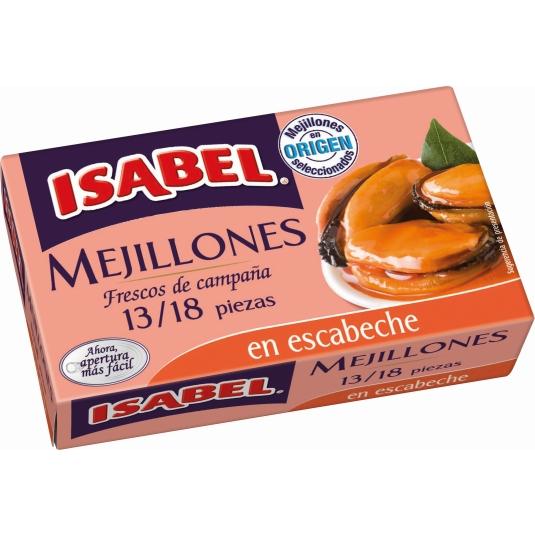 MEJILLON ESCABEC.ISABEL OL-120 13/18