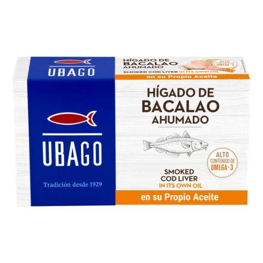 HIGADO DE BACALAO ACEITE UBAGO RR 120