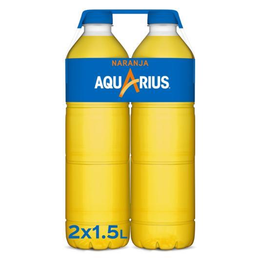 AQUARIUS NARANJA 1,5 L BIPACK