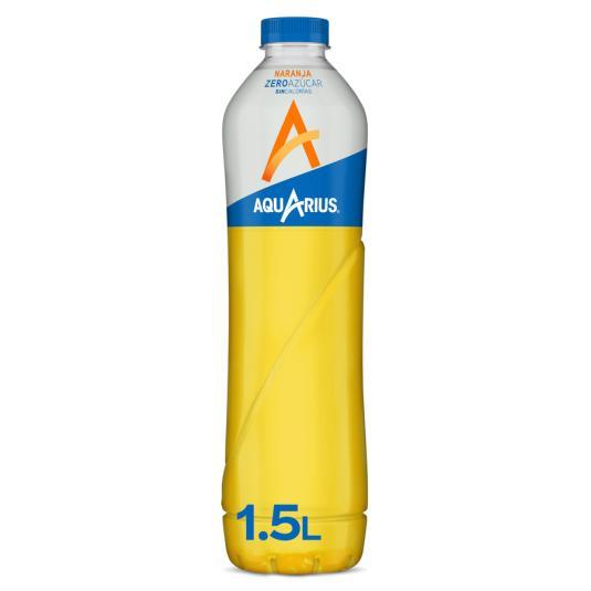 AQUARIUS ZERO NARANJA 1,5 L