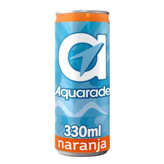 AQUARADE NARANJA LATA 33CL
