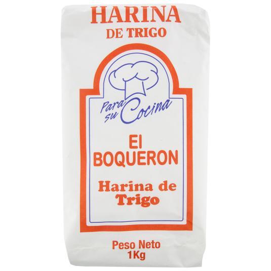 HARINA DE TRIGO EL BOQUERON 1 K