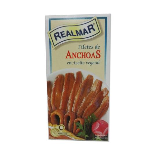 FILETES ANCHOA A/VEG.REALMAR RR-42