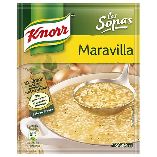SOPA KNORR MARAVILLA SOBRE 68GR