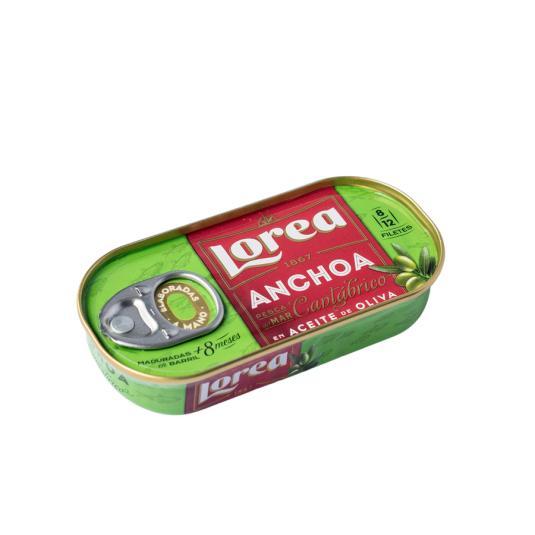 ANCHOA CANT.A/OLIVA 50G LOREA