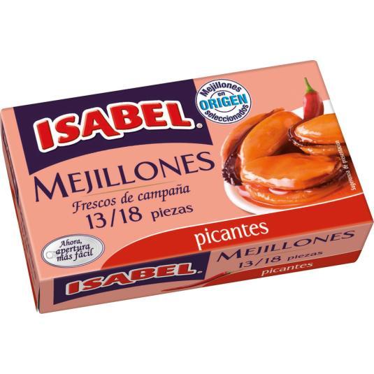 MEJILLON PICANTE ISABEL OL-120 13/18