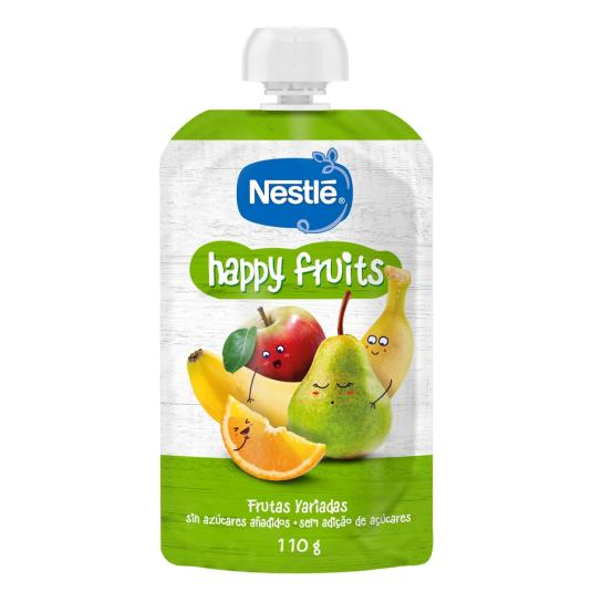NESTLE HAPPY FRUITS 4 FRUTAS 110 GR