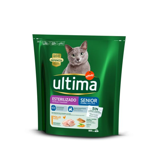 ULTIMA CAT ESTERILIZ.SENIOR 800GR