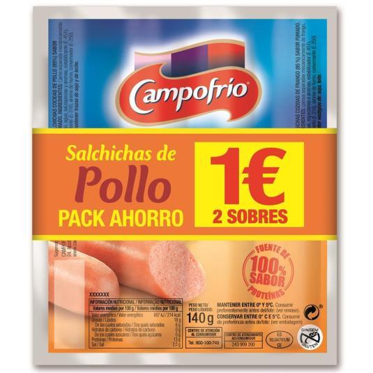 SALCHICHAS POLLO CAMPOFRIO P-2