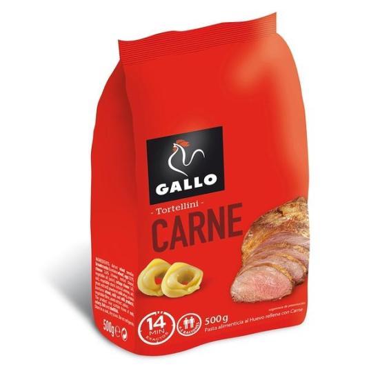 TORTELLINI CARNE GALLO 500 GR