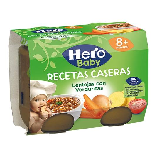 HERO BABY R.CASERA LENT/VERDURA
