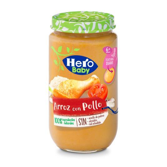 HERO BABY POLLO ARROZ 235 GR
