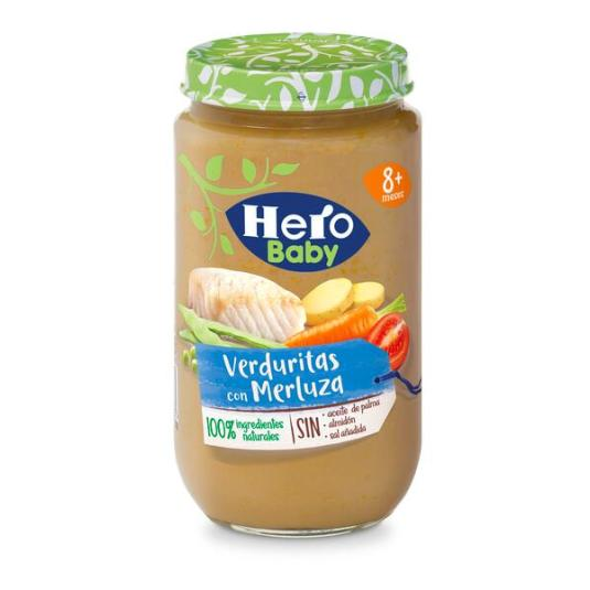 HERO BABY MERLUZ-VERDURA 235 GR