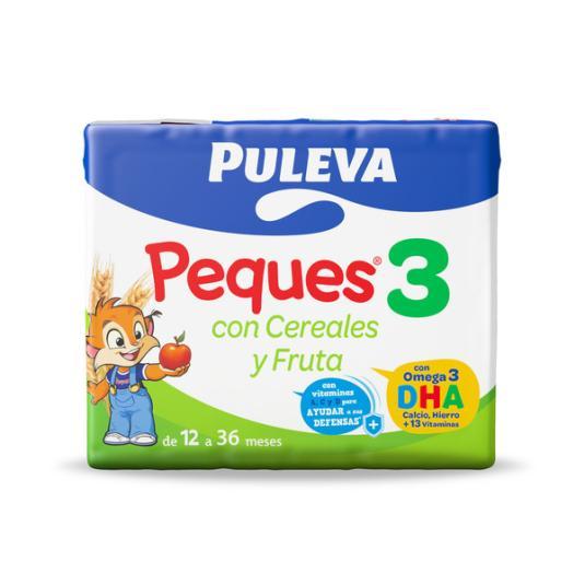 PULEVA PEQUES 3 CER.Y FRUTA P-3